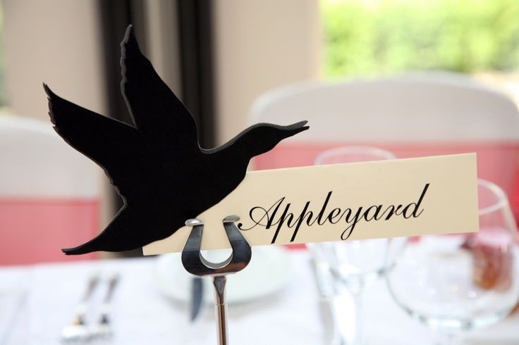 Our table names