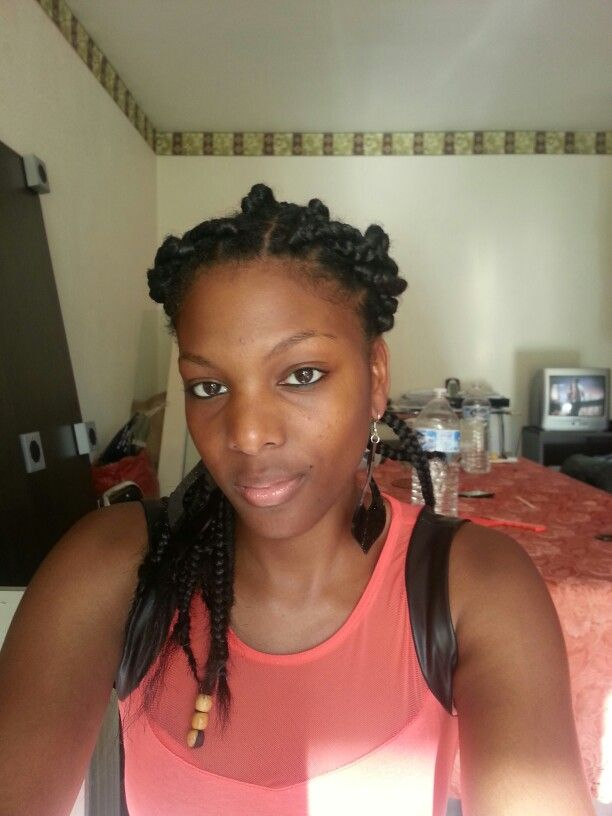 Protective style braids