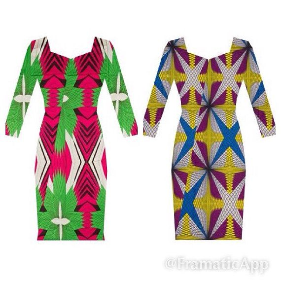 Plus size African Clothing African clothing A by AllThingsAfrican1