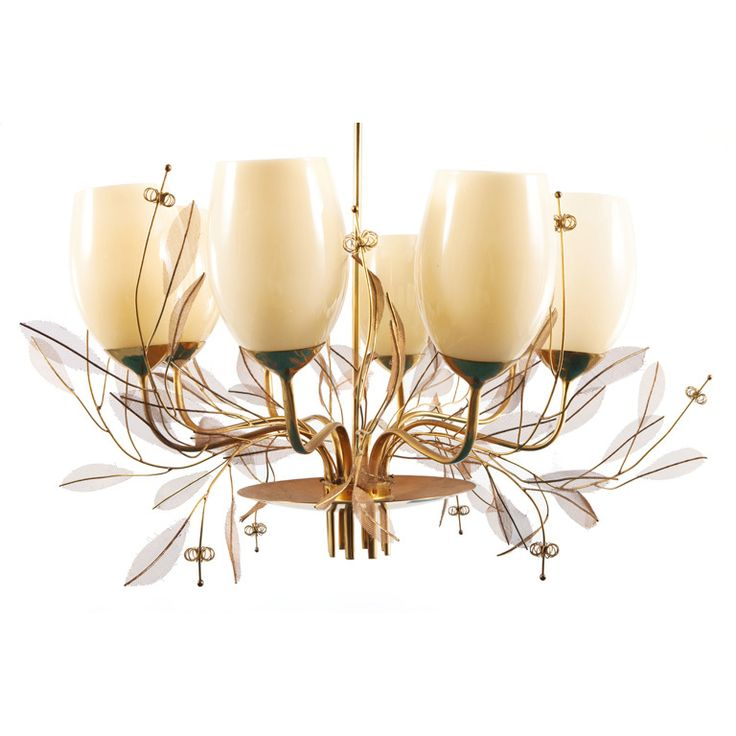 Large Paavo Tynell Chandelier