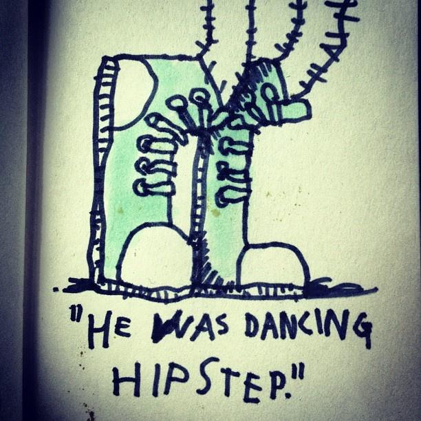 Nu dance for the young folks. #tinyvoodoo #sketch #sketchbook #comics #drawmore #comic #draweveryday #draw #drawing #iliketodraw #illustration #illustrator #doodle #doodling #sarjakuva