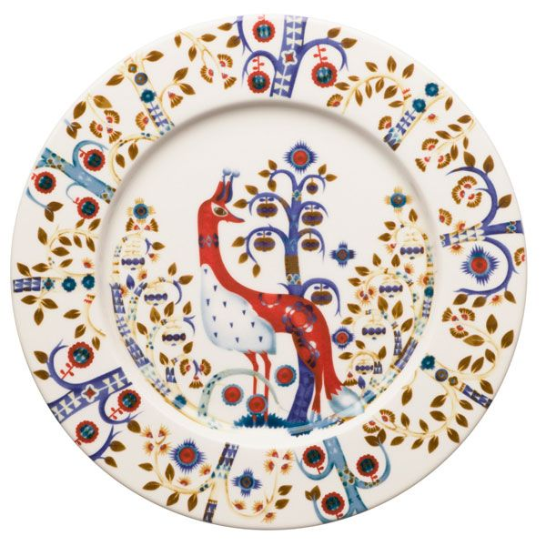 Taika plate by Iittala. Design by Klaus Haapaniemi and Heikki Orvola.