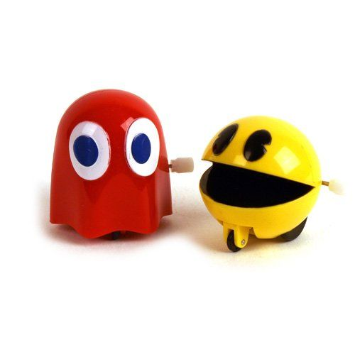 1982 Vintage Ms. Pac Man Wind Up Toy ( Ms. Pac-Man ) @ niftywarehouse.com #NiftyWarehouse #PacMan #VideoGames #Pac-man #Arcade #Classic