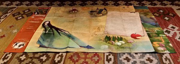 Fiabe - Biancaneve. Dal castello della Regina al castello del Principe - LeMilleunaMappa - EDT Giralangolo - Mappa retro