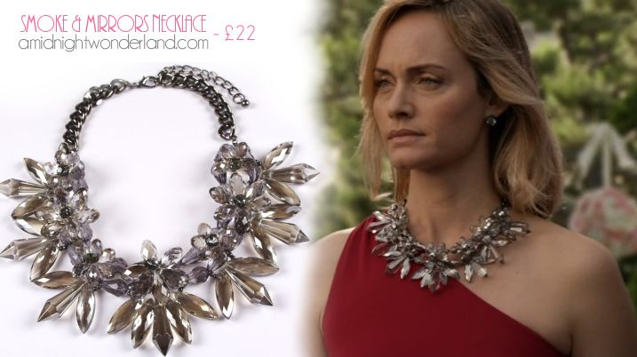 Lydia's necklace on Revenge! www.amidnightwonderland.com/product/smoke-mirrors-necklace