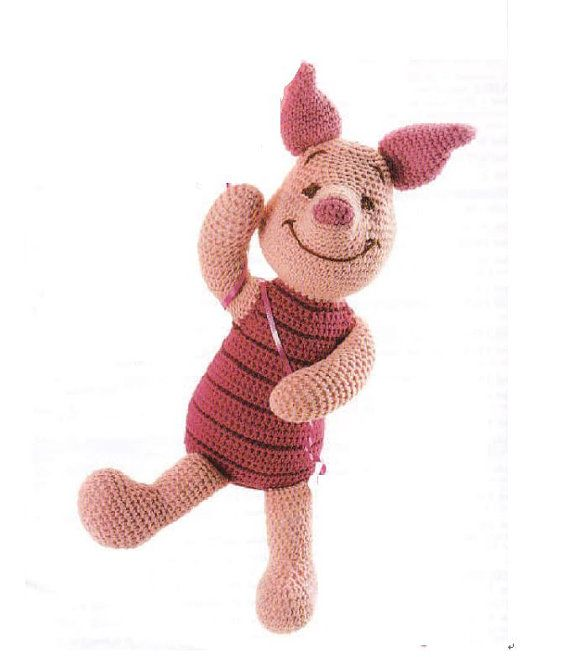 Piglet Amigurumi Pattern in English
