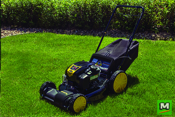 This Brute 3 N 1 Self Propelled Lawn Mower Features A 163cc Engine That Enables Quick Start For Outstandi Lawn Mower Riding Lawn Mowers Lawn Mower Accessories