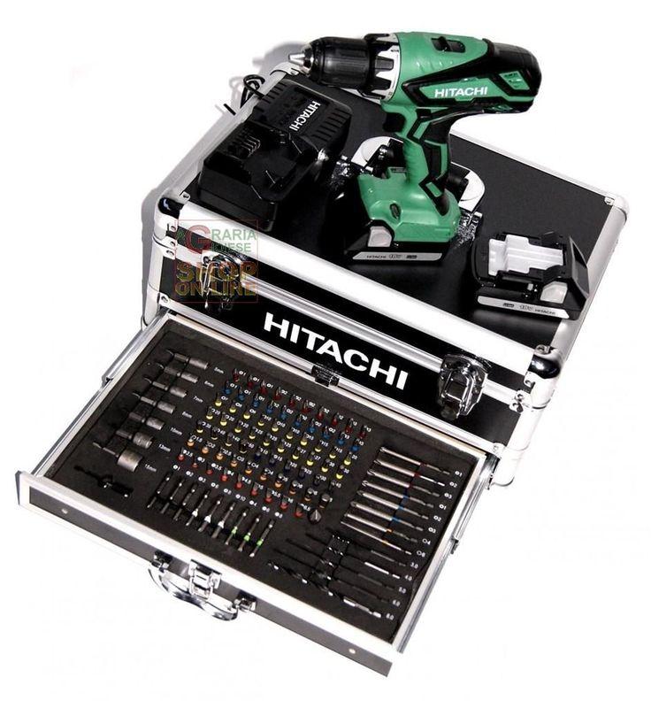 TRAPANO AVVITATORE A PERCUSSIONE HITACHI DV18DJL CON 2 BATTERIE 18V LITIO 1.5AH CON KIT VALIGETTA ALLUMINO https://www.chiaradecaria.it/it/hitachi/18358-trapano-avvitatore-a-percussione-hitachi-dv18djl-con-2-batterie-18v-litio-15ah-con-kit-valigetta-allumino-4966376247363.html