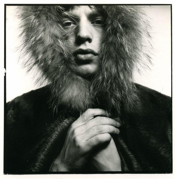 David BAILEY :: Mick Fur Hood, 1964