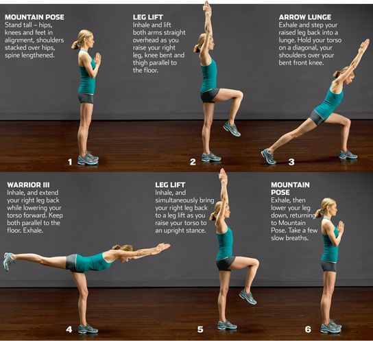 RUNS WARM UP INDOORS FIRST For That Try This 10 Minute Dynamic Yoga