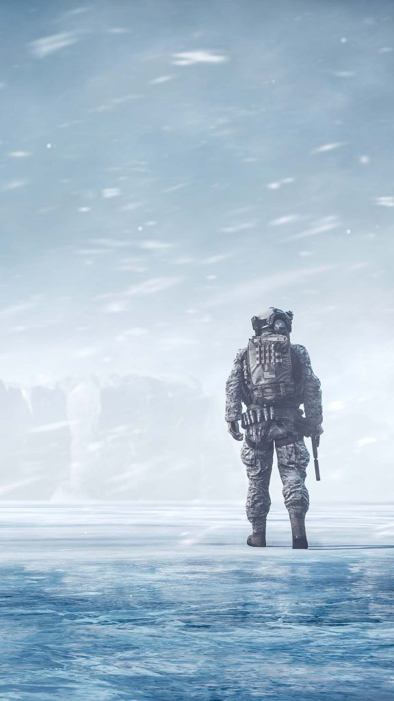 Battlefield 4 Soldier Winter Snow 2020 In 2020 Military Wallpaper Battlefield Army Wallpaper