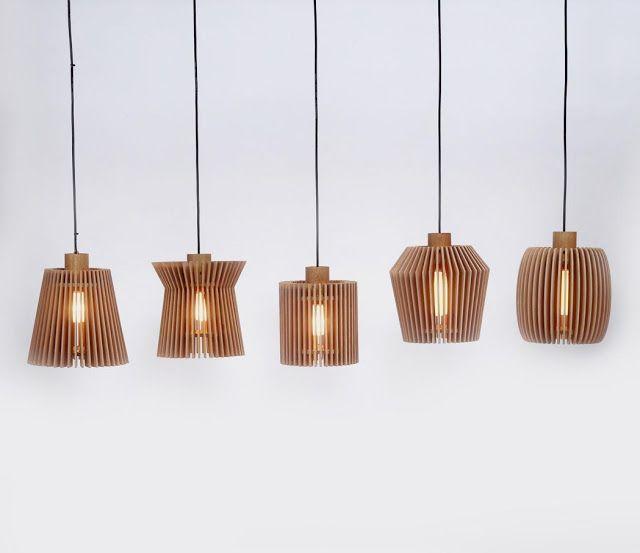 Lámparas de Madera _ Alejandro Sticotti