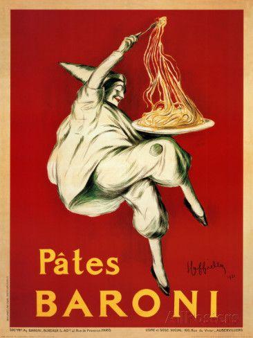 Pates Baroni, c.1921 Prints by Leonetto Cappiello at AllPosters.com