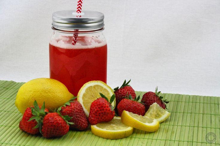 Detox water et Limonade à la fraise (Strawberry Lemonade)