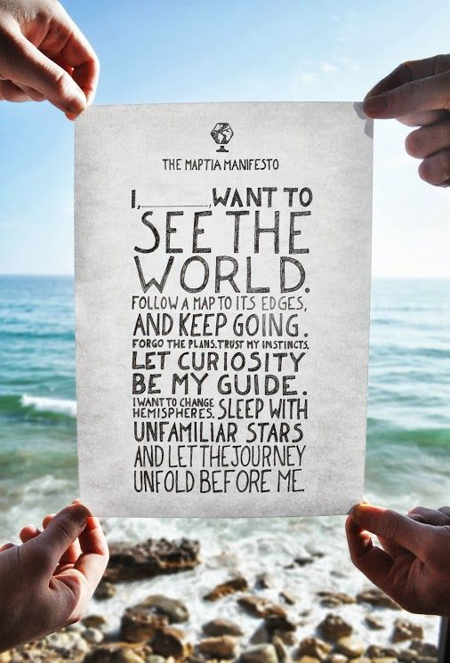My 2014 resolution: Motivate more people to travel (http://www.thetraveltester.com/resolutions-for-2014)