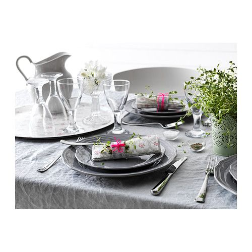 love these plates for dinner  ARV Plate  - IKEA