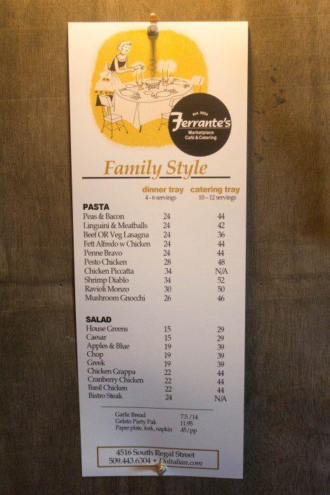 Ferrante's Marketplace & Cafe Best Italian Food & Gelato in Spokane, WA