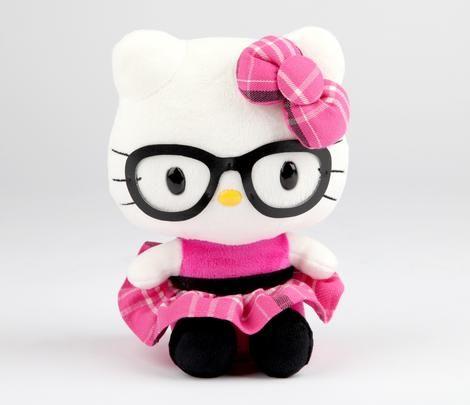 """Hello Kitty 8"""" Plush: Tartan"""