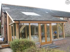 timber frame lean to extensions - Google Search