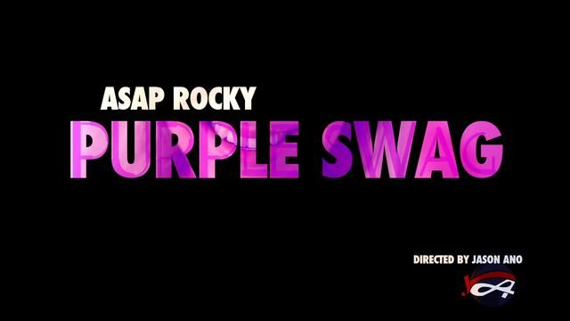 Harlem's ASAP Rocky on purple swag. Featured on Fader, Complex, World Star Hip-Hop