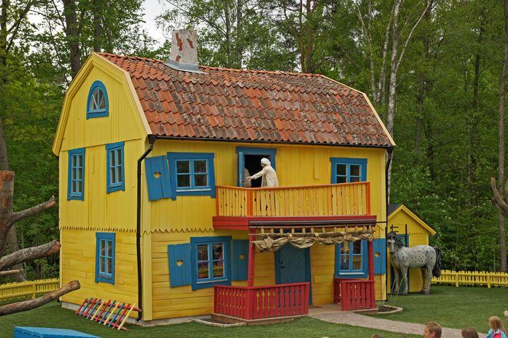 Astrid Lindgren's World i Vimmerby, Småland, Sweden. http://www.bighousesscandinavia.com/stockholm