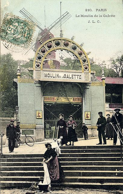 Le Moulin de la Galette, Paris, 1906