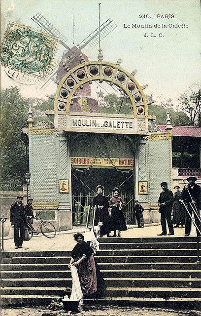 Le Moulin de la Galette, Paris, 1906