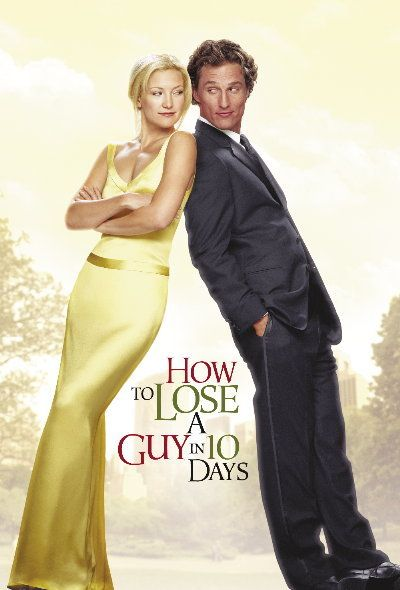 Two of my favs: Matthew McConaughey & Kate Hudson, in one of my favorite movies: How to Lose a Guy in 10 Days.