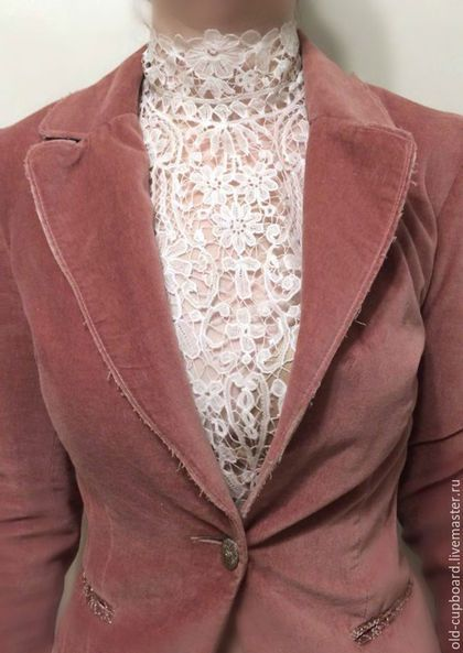 Винтажная одежда и аксессуары - Викторианский кружевной воротник на стойке Duchess - Старый Бельевой Шкаф, Ярмарка Мастеров.