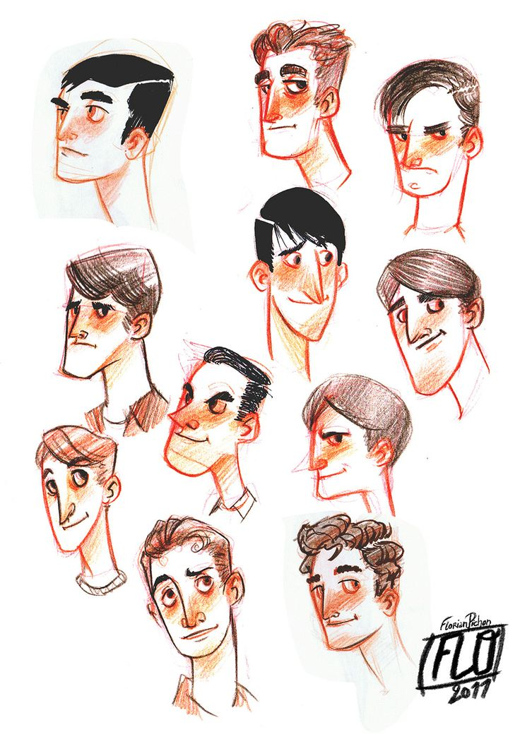 Character Design Using Shapes : Ideas about face shape hairstyles on pinterest