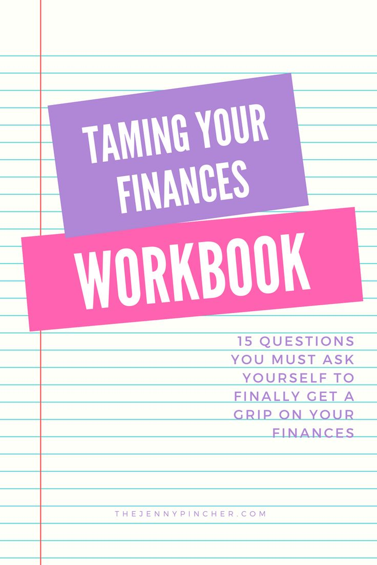 Learn how to Tame your Finances & Save $5,000 in the Process. Click to get the free workbook! via @thejennypincher