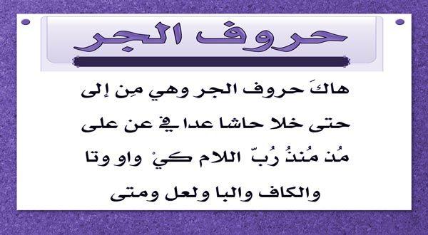 بحث عن حروف الجر في اللغة العربية Math Arabic Calligraphy Math Equations