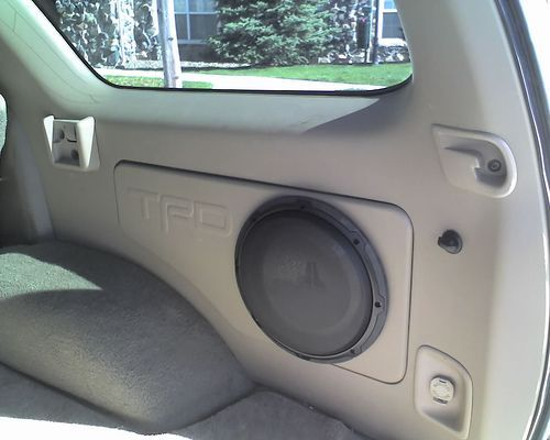 custom sub box for the rear storage compartment - Page 3 - Toyota 4Runner Forum - Largest 4Runner Forum: