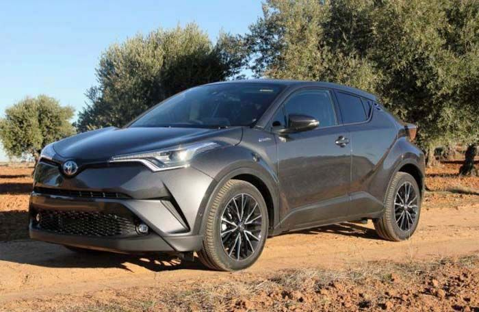 2018 Toyota CHR overview