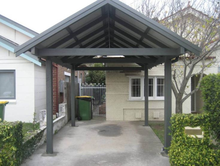 A stylish carport is a practical investment and can increase the value of your property too.