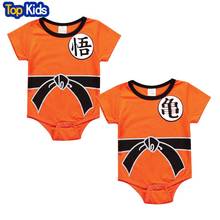Dragon Ball Baby Rompers Newborn Baby Boys Clothes SON GOKU Toddler Jumpsuit Bebes Costumes For Baby Boy Girl Clothing MBR0109 //Price: $11.36 & FREE Shipping //     #toddlers