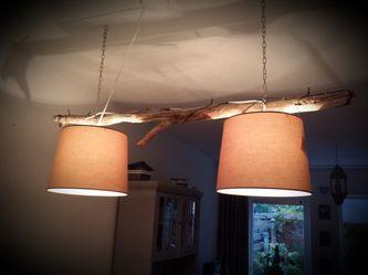 Stappenplan voor het maken van een takkenlamp, #lamp, #hout, #tak, #DIY.