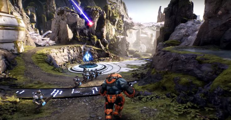 'Gears of War' studio is making a MOBA for PS4 and PC Epic Games the studio best known for the Gears of War franchise is building Paragon a new multiplayer shooter for the PlayStation 4 and PC. It's a MOBA (multiplayer online battle arena) meaning its gameplay is reminiscent of titles like League of Legends Smite or Dota -- two teams of five players fighting for control of a single map. Paragon includes a card-collecting aspect too because if you're going to make a game that appeals to a…