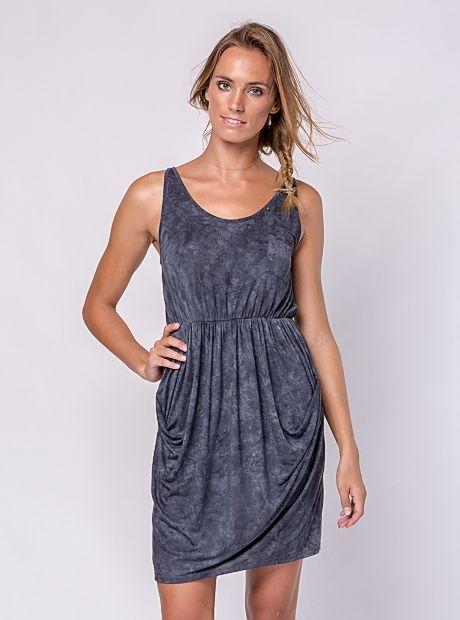 Cilla Dress / Shades Of Grey | #BuddhaWear $79.90 AUD  #summer #ss16 #ethical #womenwear #fashion