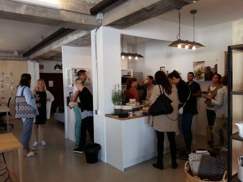 El primer desayuno nórdico en nuestro showroom fue un éxito #estilonordico #cocina #estilonordicoshowroom
