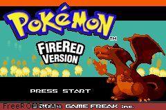 Pokemon: Fire Red Version Screen Shot 1