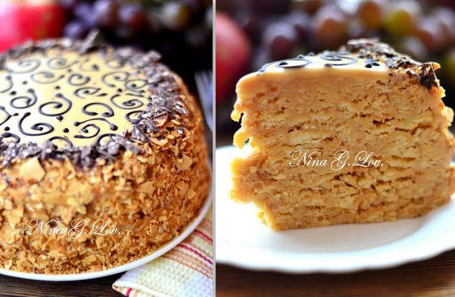 """With love, taste and beauty... : Торт """"Муравейник"""""""