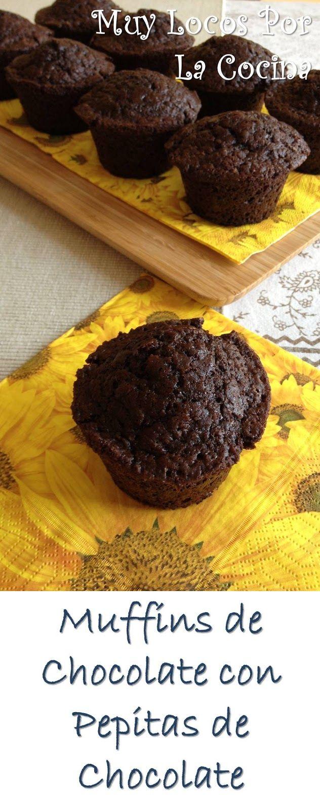 Twittear      Estos muffins harán las delicias de los amantes del chocolate. Tienen un sabor intenso a chocolate, con aroma d...