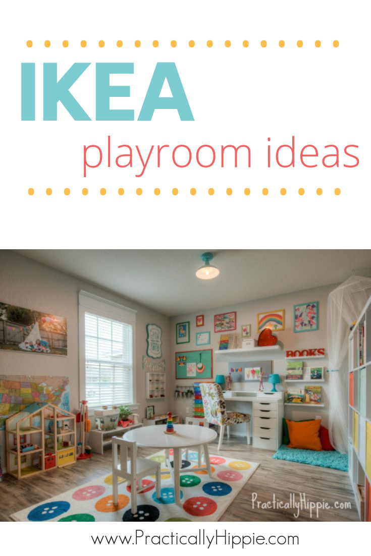 Our bright & cheerful IKEA playroom