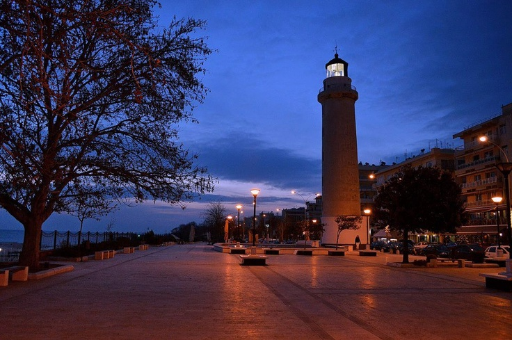 GREECE CHANNEL | Night view of the Lighthouse, #Alexandroupoli, #Greece