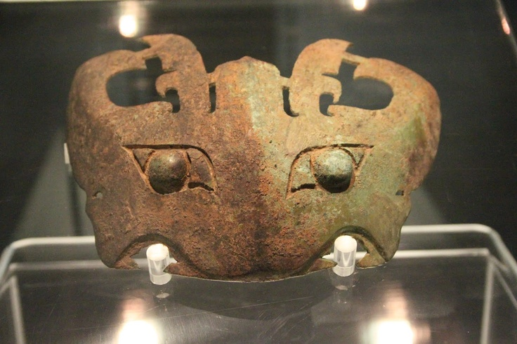 Shang Dynasty bronze mask