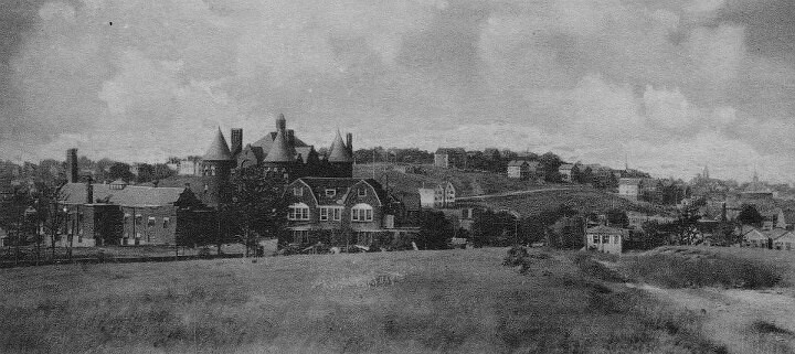 Old Staten Island hospital view