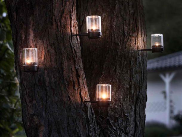 Gartenbeleuchtung mal anders: Das schlägt ein