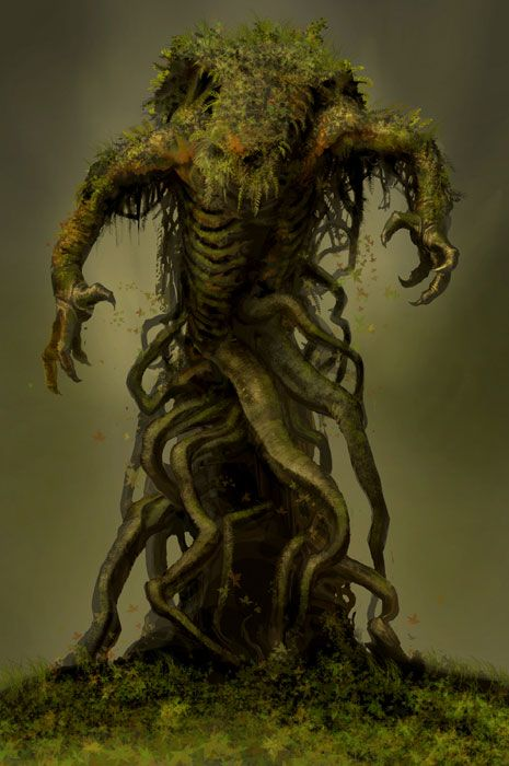 Naga Forest Lord from Guild Wars Factions