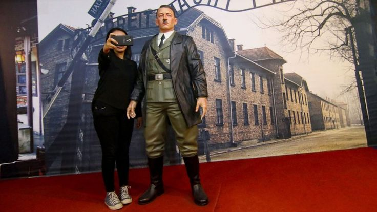 """Adolf Hitler waxwork removed from Indonesian museum https://tmbw.news/adolf-hitler-waxwork-removed-from-indonesian-museum  A life-size waxwork of Adolf Hitler used for """"selfies"""" by visitors to an Indonesian museum has been removed.Pictures shared on social media show people grinning as they pose with the Nazi leader in front of the gates of Auschwitz concentration camp.But it was only when the international community reacted with outrage that the De ARCA Statue Art Museum realised it had…"""